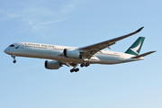 Airbus A350-941 - B-LRD operated by Cathay Pacific Airways