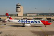 Airbus A330-343E - HB-JHR operated by Edelweiss Air