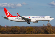 Boeing 737-8 MAX - TC-LCF operated by Turkish Airlines