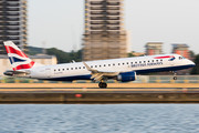 Embraer 190-100SR - G-LCYV operated by BA CityFlyer
