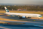 Boeing 777-300ER - B-KQP operated by Cathay Pacific Airways