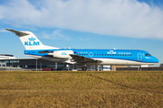 Fokker 70 - PH-KZL operated by KLM Cityhopper
