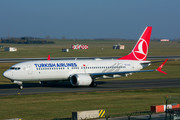 Boeing 737-8 MAX - TC-LCA operated by Turkish Airlines