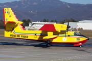 Bombardier CL-415 - I-DPCS operated by Corpo nazionale dei vigili del Fuoco (Italian National Firefighters Corps)