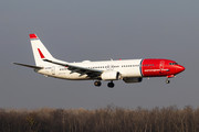 Boeing 737-800 - LN-NGS operated by Norwegian Air Shuttle