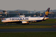 Boeing 737-800 - EI-DAM operated by Ryanair