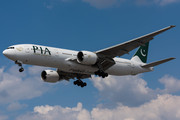 Boeing 777-200ER - AP-BGJ operated by Pakistan International Airlines (PIA)