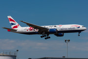 Boeing 777-200ER - G-YMML operated by British Airways