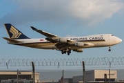 Boeing 747-400F - 9V-SFO operated by Singapore Airlines Cargo