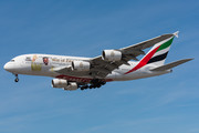 Airbus A380-842 - A6-EUV operated by Emirates