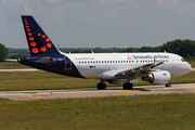 Airbus A319-111 - OO-SSV operated by Brussels Airlines