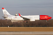 Boeing 737-800 - LN-NGF operated by Norwegian Air Shuttle