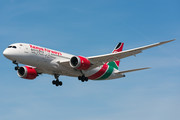 Boeing 787-8 Dreamliner - 5Y-KZD operated by Kenya Airways