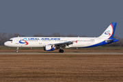 Airbus A321-211 - VQ-BKG operated by Ural Airlines