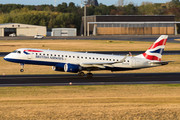 Embraer E190SR (ERJ-190-100SR) - G-LCYX operated by BA CityFlyer