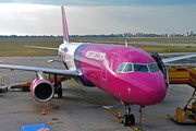 Airbus A320-232 - HA-LPV operated by Wizz Air