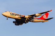Boeing 747-400F - LX-TCV operated by Cargolux Italia