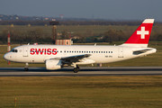Airbus A319-112 - HB-IPU operated by Swiss International Air Lines