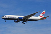 Boeing 777-200ER - G-YMMC operated by British Airways