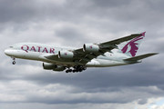 Airbus A380-861 - A7-APE operated by Qatar Airways