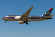 Boeing 787-8 Dreamliner - JY-BAA operated by Royal Jordanian