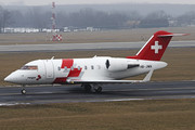 Bombardier CL-600-2B16 Challenger 650 - HB-JWA operated by REGA - Swiss Air Ambulance