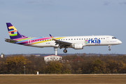 Embraer E195IGW (ERJ-190-200IGW) - 4X-EMF operated by Arkia Israeli Airlines