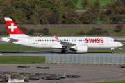 Airbus A220-300 - HB-JCJ operated by Swissair