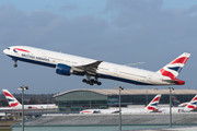 Boeing 777-300ER - G-STBJ operated by British Airways