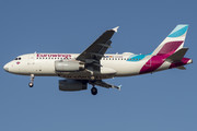 Airbus A319-132 - D-AGWB operated by Eurowings