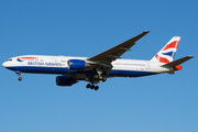 Boeing 777-200ER - G-YMMO operated by British Airways