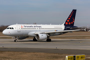 Airbus A319-112 - OO-SSR operated by Brussels Airlines