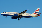 Airbus A320-232 - G-EUUV operated by British Airways