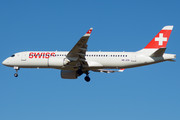 Airbus A220-300 - HB-JCN operated by Swiss International Air Lines