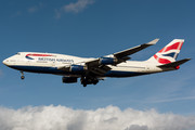 Boeing 747-400 - G-BYGF operated by British Airways