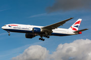 Boeing 777-200ER - G-VIIS operated by British Airways