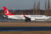 Boeing 737-8 MAX - TC-LCE operated by Turkish Airlines