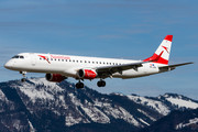 Embraer 190-200LR - OE-LWB operated by Austrian Airlines