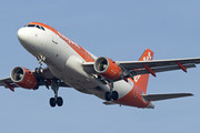Airbus A319-111 - HB-JYK operated by easyJet Switzerland