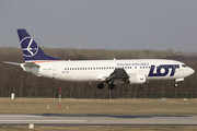 Boeing 737-400 - SP-LLG operated by LOT Polish Airlines