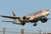 Boeing 777-300ER - A7-BEN operated by Qatar Airways