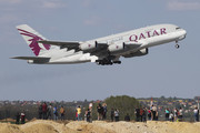 Airbus A380-861 - A7-API operated by Qatar Airways