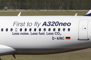 Airbus A320-271N - D-AINC operated by Lufthansa