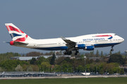 Boeing 747-400 - G-CIVE operated by British Airways