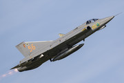 Saab J 35J Draken - SE-DXR operated by Swedish Air Force Historic Flight