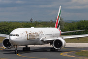 Boeing 777-300ER - A6-EBB operated by Emirates