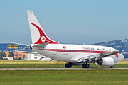 Boeing 737-600 - TS-IOP operated by Tunisair