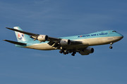 Boeing 747-8F - HL7639 operated by Korean Air Cargo
