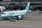 Airbus A319-114 - 5B-DCW operated by Cyprus Airways