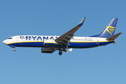 Boeing 737-800 - EI-FTV operated by Ryanair